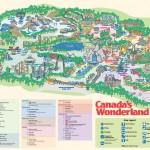 Canada's Wonderland Map