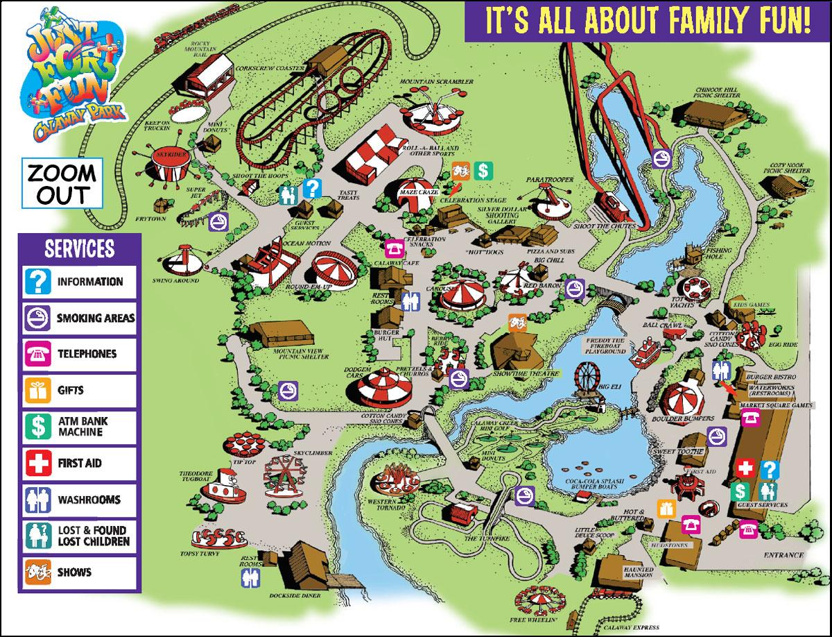 Calaway Park Map