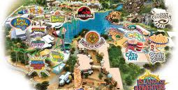 Universal Islands of Adventure map